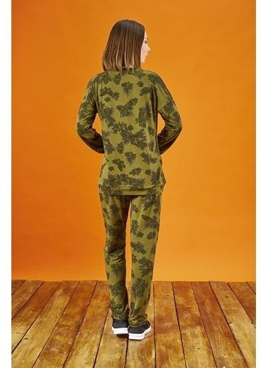 Pjs Pijama Takım Yeşil